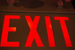 Exit rates - useful for certain types of pages